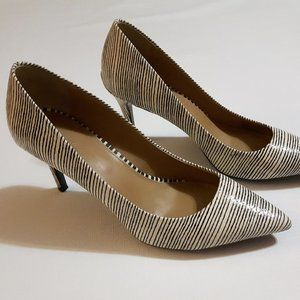 Calvin Klein Pumps Gayle High Heel Shoes 8.5 Strip